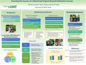 Primary view of object titled 'Assessing the Success of a Mentoring Program Beyond Satisfaction Surveys'.