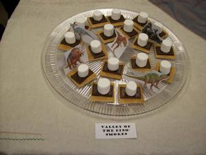 Primary view of object titled '[Valley of the Dino-Smores Edible Book]'.
