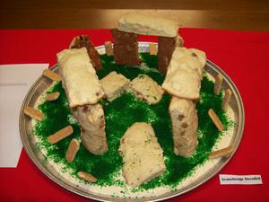 Primary view of object titled '[Sconehenge Decoded Edible Book]'.