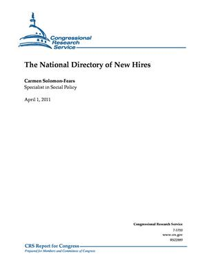 The National Directory of New Hires