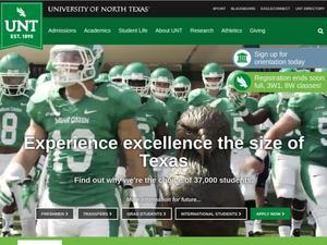 University of North Texas Spring 2017