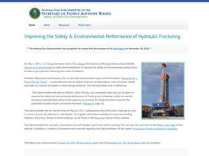 Primary view of object titled 'Improving the Safety & Environmental Performance of Hydraulic Fracturing'.
