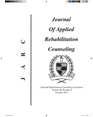 Primary view of object titled 'Journal of Applied Rehabilitation Counseling, Volume 48, Number 2, Summer 2017'.
