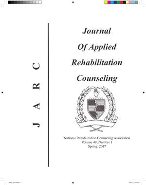 Primary view of object titled 'Journal of Applied Rehabilitation Counseling, Volume 48, Number 1, Spring 2017'.