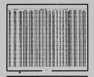 Primary view of object titled '[DOPTAP Output Listings for National Topographic Map Section NI 14-5]'.