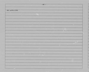 Primary view of object titled '[Average Record Data Listings for Marble Canyon Quadrangle]'.