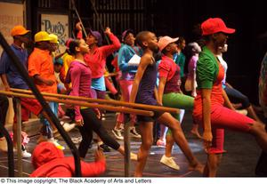 Primary view of object titled '[Hip Hop Broadway: The Musical Photograph 439]'.