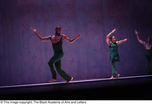 Primary view of object titled '[Dance ensemble in green]'.