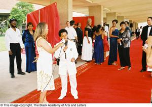 Primary view of object titled '[Red Carpet Interview]'.