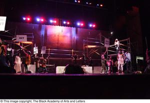 Primary view of object titled '[Musical sequence from Aretha: The Musical]'.