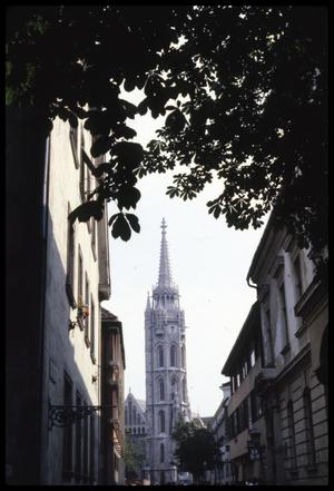 Primary view of object titled '[Matthias Church Tower]'.