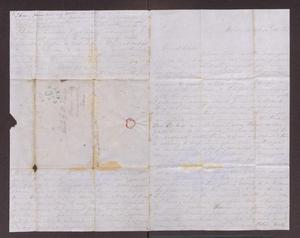 Primary view of object titled '[Letter from Maud C. Fentress to David Fentress, March 10, 1862]'.
