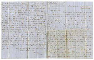 Primary view of [Letter from David Fentress to Clara, July 8,1864]
