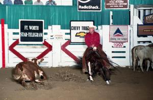 Primary view of object titled 'Cutting Horse Competition: Image 1997_D-100_03'.
