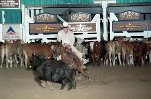 Primary view of object titled 'Cutting Horse Competition: Image 1997_D-104_29'.