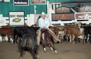 Primary view of object titled 'Cutting Horse Competition: Image 1997_D-108_22'.