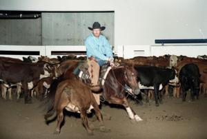 Primary view of object titled 'Cutting Horse Competition: Image 1997_D-10_17'.