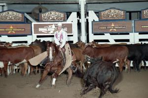 Primary view of object titled 'Cutting Horse Competition: Image 1997_D-110_01'.