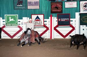 Primary view of object titled 'Cutting Horse Competition: Image 1997_D-118_01'.