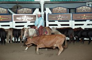 Primary view of object titled 'Cutting Horse Competition: Image 1997_D-119_15'.