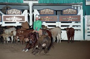 Primary view of object titled 'Cutting Horse Competition: Image 1997_D-123_04'.
