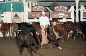 Primary view of object titled 'Cutting Horse Competition: Image 1997_D-132_18'.