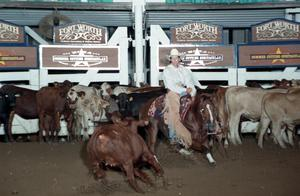 Primary view of object titled 'Cutting Horse Competition: Image 1997_D-133_25'.