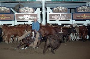 Primary view of object titled 'Cutting Horse Competition: Image 1997_D-135_05'.