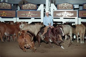 Primary view of object titled 'Cutting Horse Competition: Image 1997_D-13_02'.