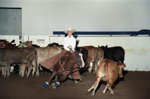Primary view of object titled 'Cutting Horse Competition: Image 1997_D-14_23'.