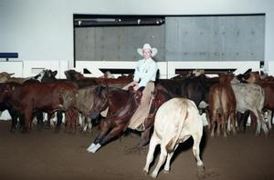 Primary view of object titled 'Cutting Horse Competition: Image 1997_D-14_33'.