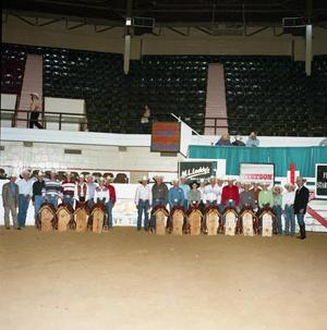 Primary view of object titled 'Cutting Horse Competition: Image 1997_D-201_01'.
