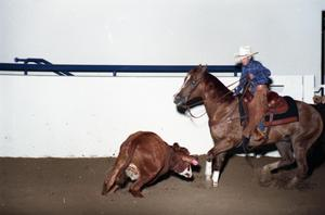 Primary view of object titled 'Cutting Horse Competition: Image 1997_D-2_13'.