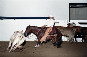 Primary view of object titled 'Cutting Horse Competition: Image 1997_D-3_13'.