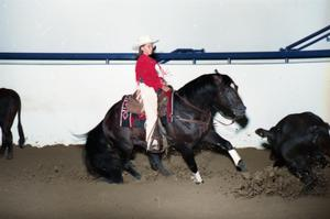 Primary view of object titled 'Cutting Horse Competition: Image 1997_D-3_16'.