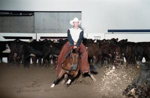 Primary view of object titled 'Cutting Horse Competition: Image 1997_D-4_19'.