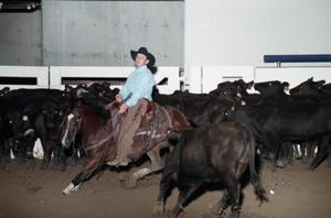 Primary view of object titled 'Cutting Horse Competition: Image 1997_D-5_02'.