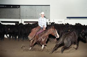 Primary view of object titled 'Cutting Horse Competition: Image 1997_D-5_11'.