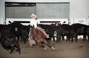 Primary view of object titled 'Cutting Horse Competition: Image 1997_D-5_16'.