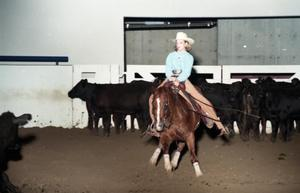 Primary view of object titled 'Cutting Horse Competition: Image 1997_D-5_19'.
