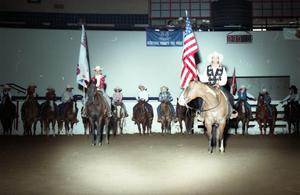 Primary view of object titled 'Cutting Horse Competition: Image 1997_D-6_32'.