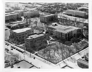 Primary view of object titled '[Aerial Photograph of North Texas State Teachers College, 1936]'.
