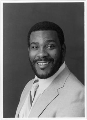 Primary view of object titled '[North Texas Player, Joe Greene]'.