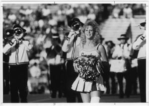 Primary view of object titled '[North Texas Cheerleader]'.