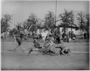 Primary view of object titled '[North Texas Football Game, around 1925]'.