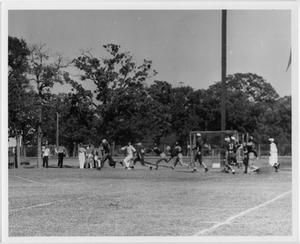 Primary view of object titled '[North Texas vs. Army Football Game, 1942]'.