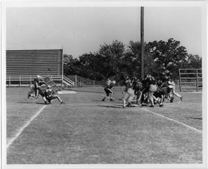 Primary view of object titled '[North Texas Football Game, 1942]'.