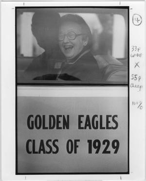 Primary view of object titled '[Golden Eagle alumnus, Class of 1929]'.