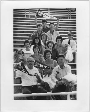 Primary view of object titled '[Group of alumni, North Texas Homecoming 1982]'.
