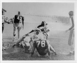 Primary view of object titled '[North Texas Football Game, 1949]'.